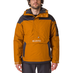 Columbia Challenger Giacca Uomo, burnished amber/shark